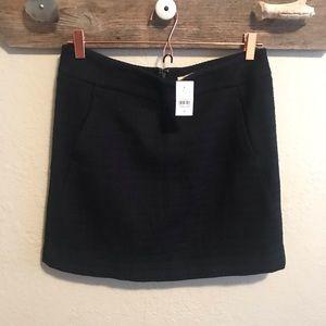 Ann Taylor LOFT tweed mini skirt